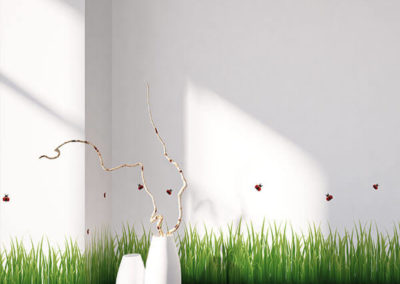 53004 Grass & Ladybugs