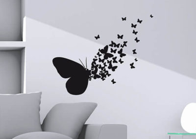 54110 Butterflies Silhouettes M