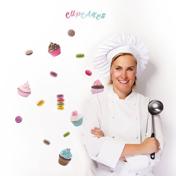59158 Cupcakes & Macarons S
