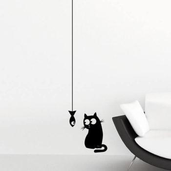 59159 Cat & Fish S
