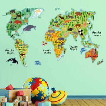 18301 World Map XL