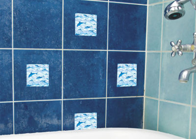 31413 Tiles Dolphins M