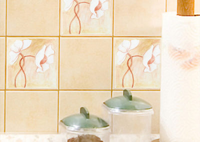 59609 Tiles Entwined Flowers S