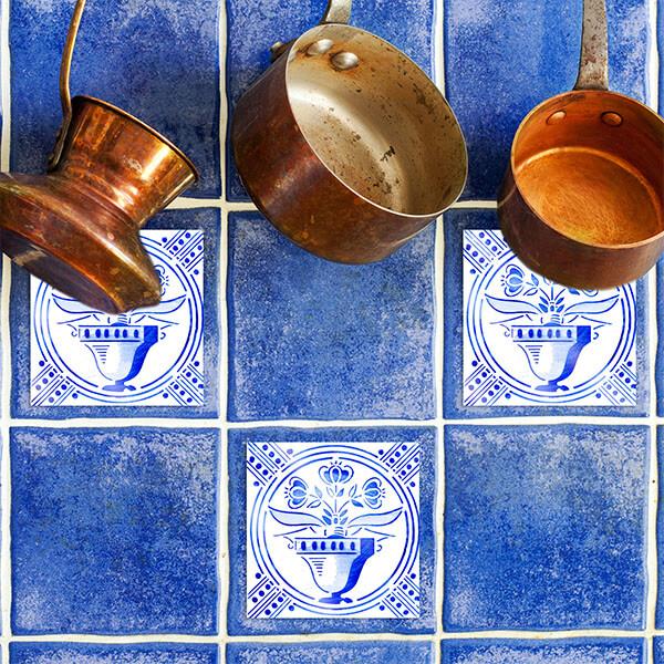 59611 Tiles Deft Blue S