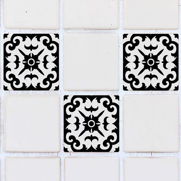 59614 Tiles Black S