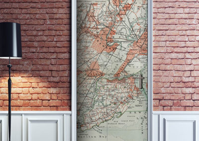 23524 New York's Map