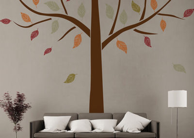 Fresh Wall Stickers Tree Branches