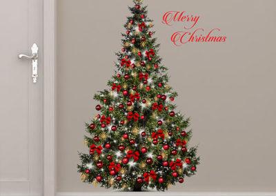 81050 Xmas Red Tree XXL