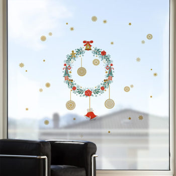 96003 Xmas Garland Two Bells M