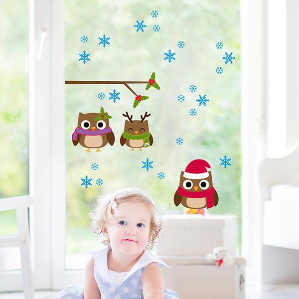 96006 Owls Family M