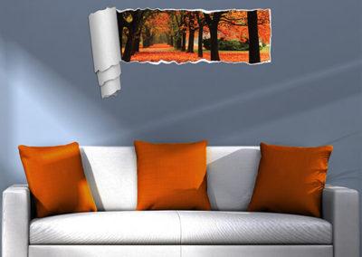 44202 Funny Panoramic Autumn XL