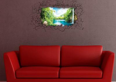 44204 Funny Panoramic Waterfall XL