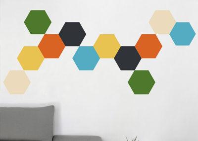 57716 Hexagons XL