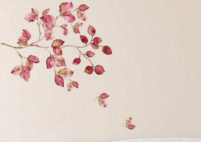 57723 Pink Watercolour XL