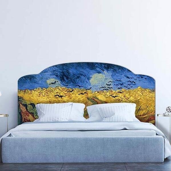 58718 Corvi su campo di grano - Van Gogh