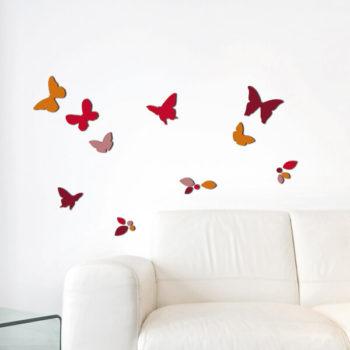 54508 Butterflies & Leaves M