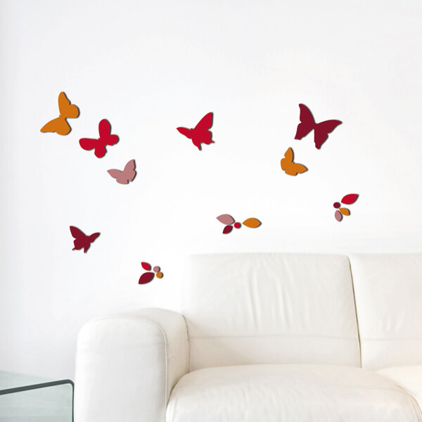 54508 Butterflies & Leaves M