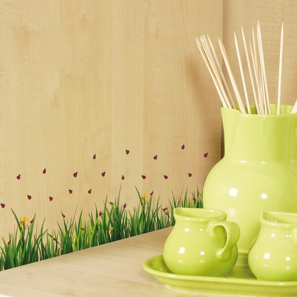 59393 Ladybugs On Grass S