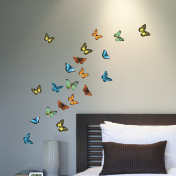 59455 Colourful Butterflies S