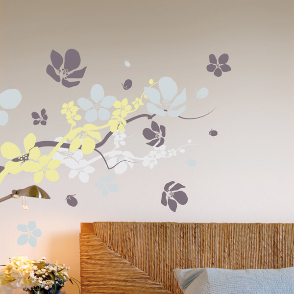 57113 Blister / 44019 Flat - Branches & Flowers XL