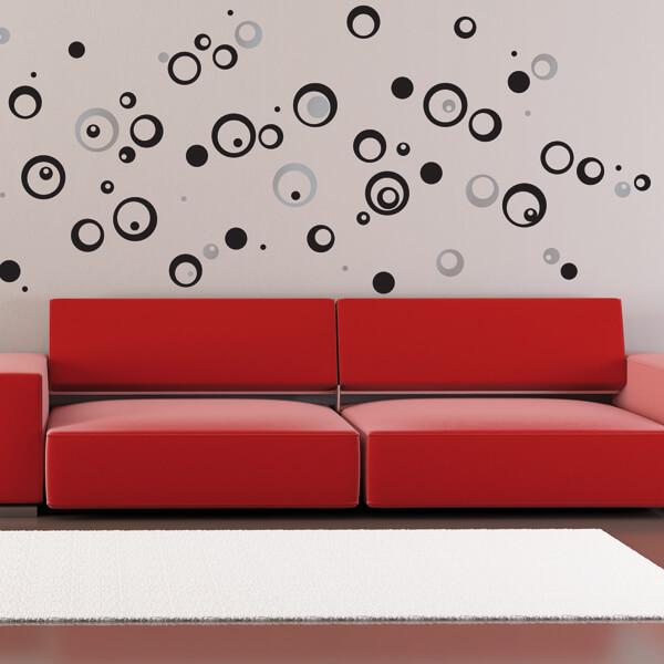 57713 Blister / 44024 Flat - Black Circles XL