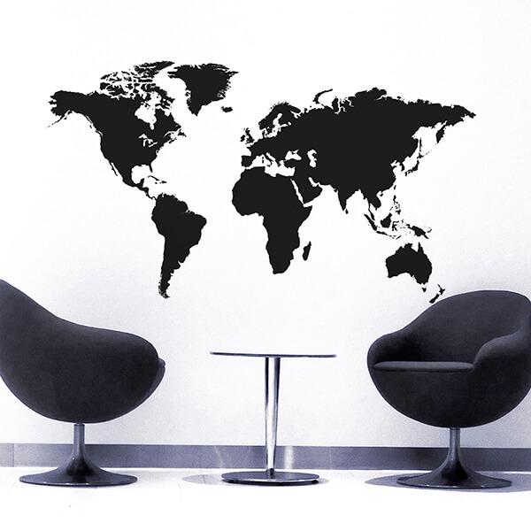 81012 World Map XXL