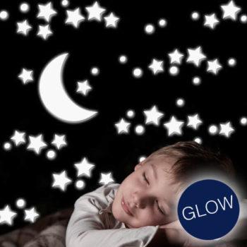 18003 White Stars L