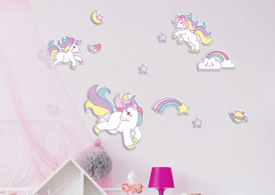 18006 Lovely Unicorns L