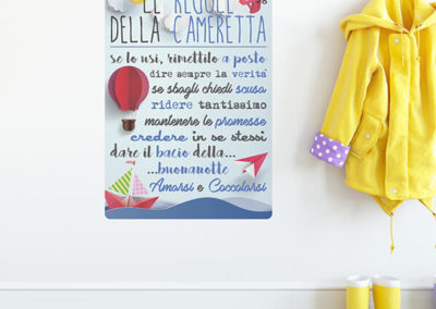 16209 Regole Della Cameretta L