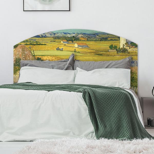 Scandinavian bedroom interior with elegant dresser and warm carp